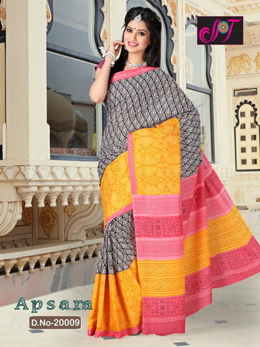 Cotton Blended Sarees