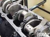 Toyota crankshaft bearing