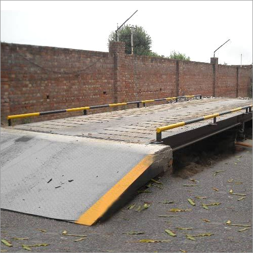 Pit Less Steel Platform Weighbridge With Latest Digital Technology