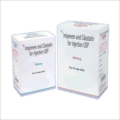 Imipenem Cilastatin For Injection Usp 250 Mg