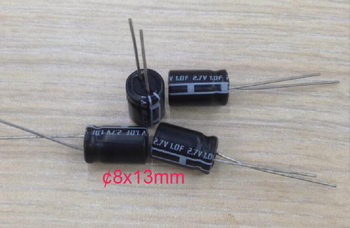 Cylindrical Type Super Capacitors
