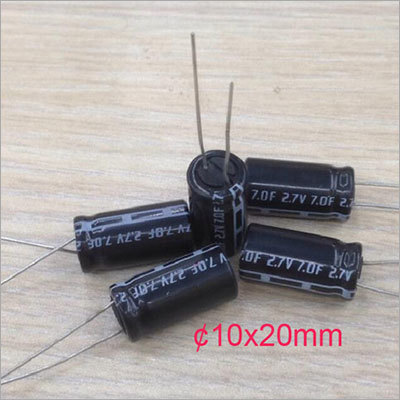 Cylinder capacitor