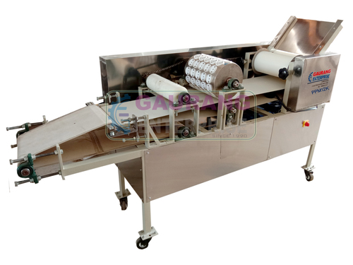 Semi Automatic Puri Making Machine