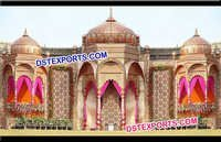 Jodha Akbar Style Bollywood Wedding Stage