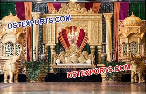 Grand Mughal Theme Wedding Stage