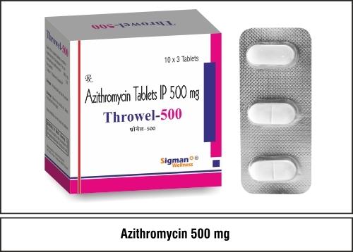 Azithromycin 500 mg.