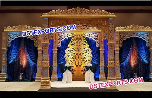 Wedding Golden Bollywood Mandap