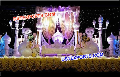 Aladdin Wedding Stage