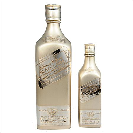 Silver Gift Bottle