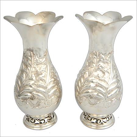 Silver Flower Vase - Gift