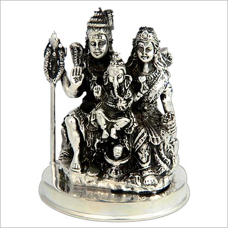 Antique Silver Murti
