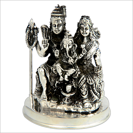 Antique Silver Murti