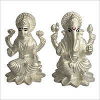 999 Silver Laxmi Ganesh