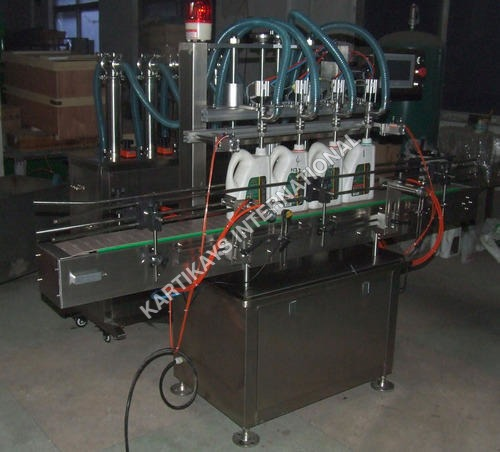 Shampoo Bottle Filling Machine