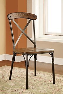 Industrial Style Round Dining Chair