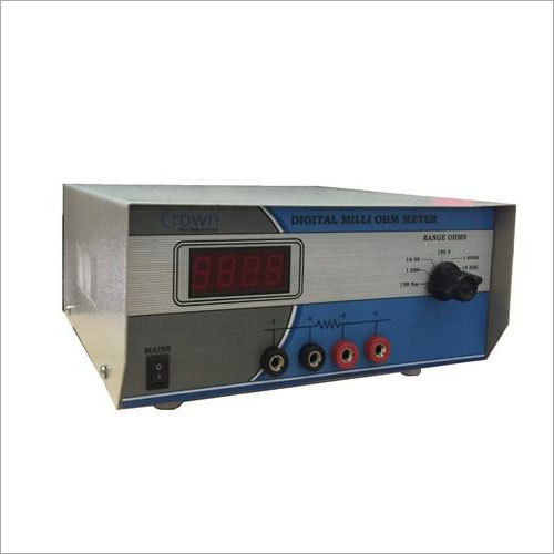 Digital Milli Ohm Meter - 52 C