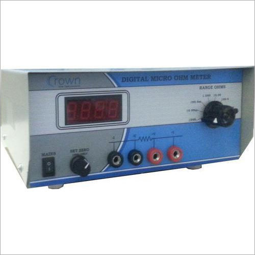 Digital Micro Ohm Meter - 53 C