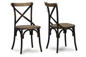 Baxton Studio Konstanze Industrial  Chairs