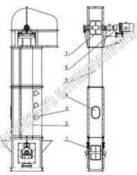 Belt Type Bucket Elevator