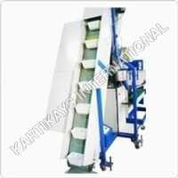 Infeed Belt Conveyor with Feeder and Big Hopper