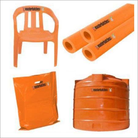 Plastic Orange Masterbatch