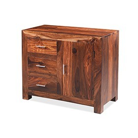 Cuba sheesham small sideboard main