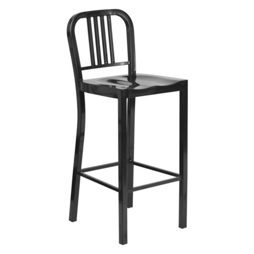 Black Knight Industrial Low Back Stool