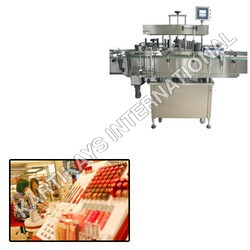 Round Bottle Labeling Machine for Cosmetics Indust