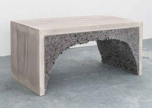 Amma Studio Bench Cement