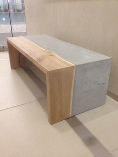 Concrete Wood Table