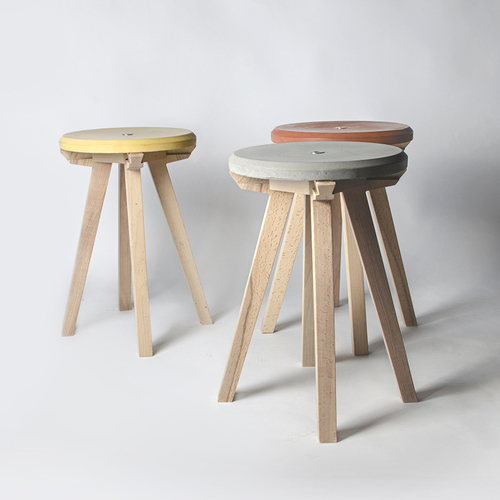 Concrete Top Stools