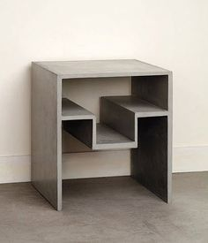 Concrete High Side Table