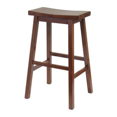 Winsome Saddle Bar Stool