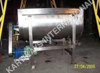 Stainless Steel Ribbon Blender Machine