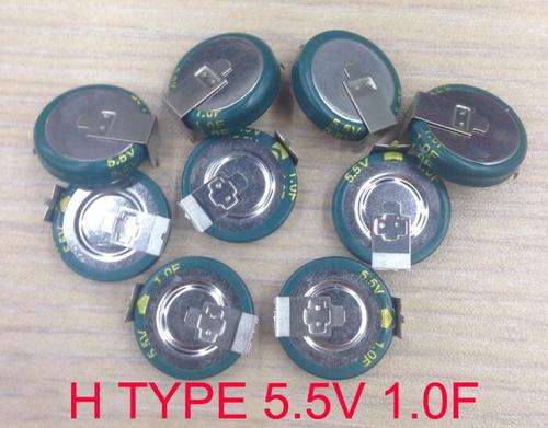 Button super capacitor