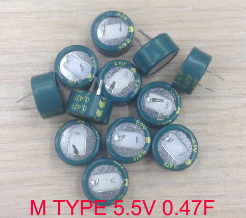 M shape capacitor