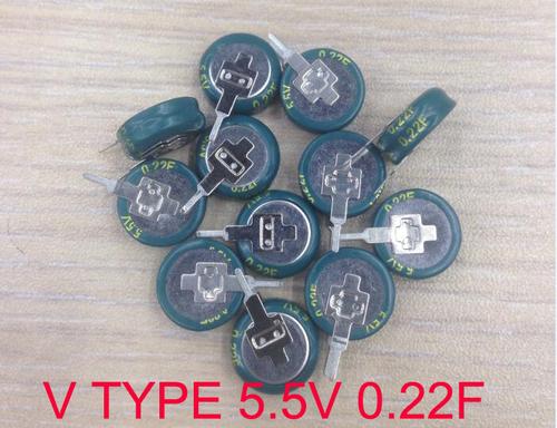 V TYPE capacitor