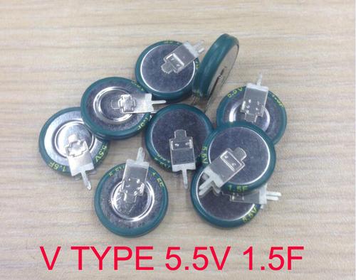 V shape capacitor