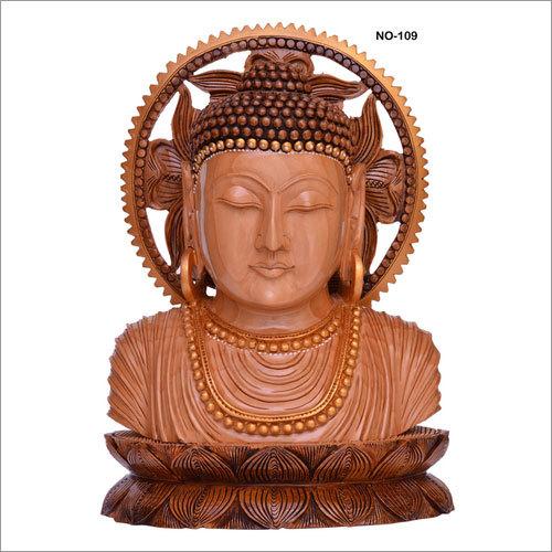 Wooden Antique Buddha
