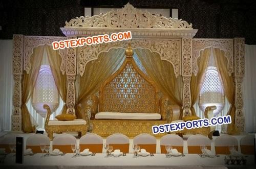 Bollywood Maharani Wedding Stage Set