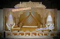 Bollywood Maharani Wedding Stage Set