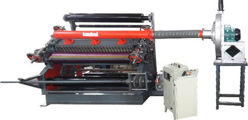 High Speed Fingerless Paper Corrugating Machine