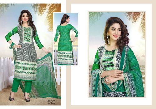 Mcm Cotton Printed Dress Material