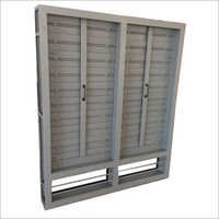 Glazed Louver Windows