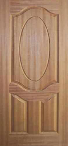 3P Teak Moulded Doors