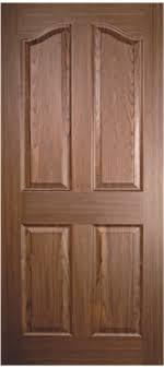 4P Teak Moulded Doors