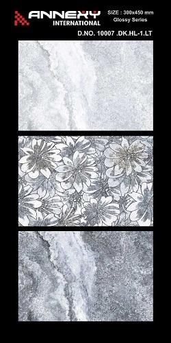 300x450 Ceramic Floral Design Tiles