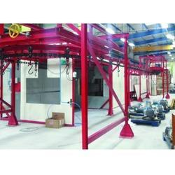 High Speed IR Paint Curing Line