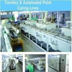IR Paint Curing Line
