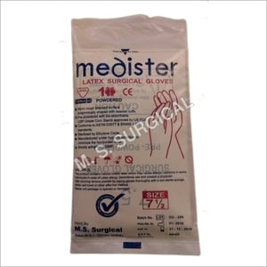 Latex Powdered Surgical Sterile Gloves